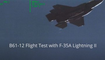 F-35 Drops Nuclear Bomb